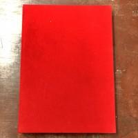 Bìa trình ký nhung đỏ A4