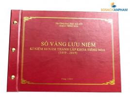 Sổ Vàng Lưu Niệm