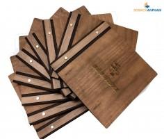 Menu gỗ cao cấp